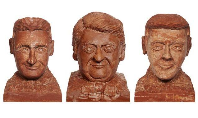 Matt Preston, Karl Stefanovic Immortalised in Chocolate