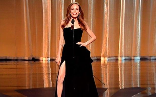Journey Of A Meme: Angelina Jolie's Right Leg At The 2012 Oscars
