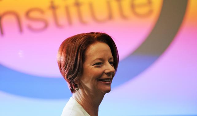 Hang Out With Julia Gillard's Floating Head