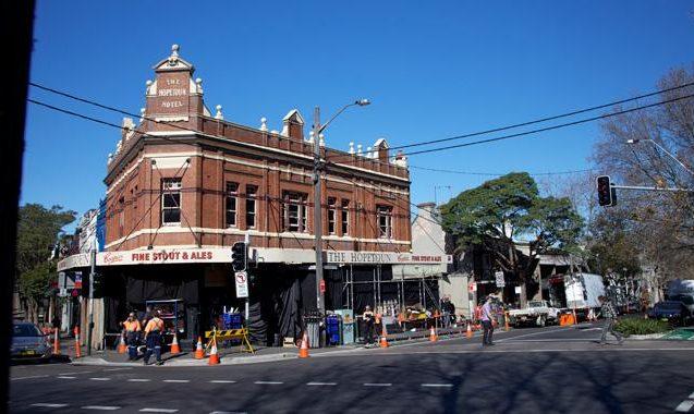 Exclusive Pics: Wolverine Shoots At Sydney's The Hopetoun