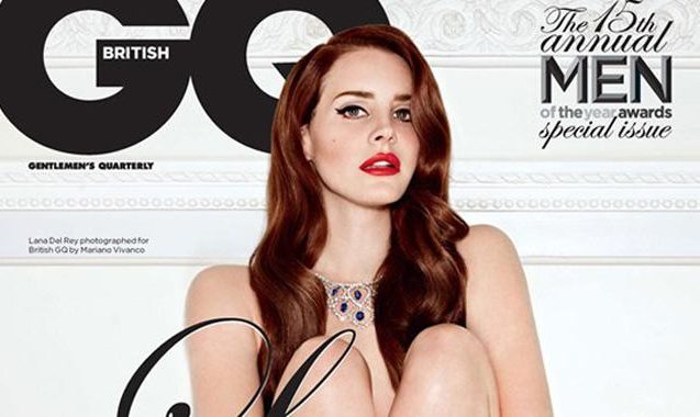Lana Del Rey Is Nude As GQ's Woman Of the Year