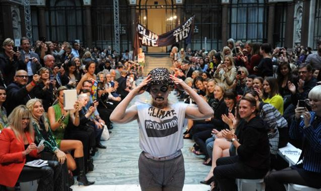 Vivienne Westwood Gives A Shout Out To Julian Assange