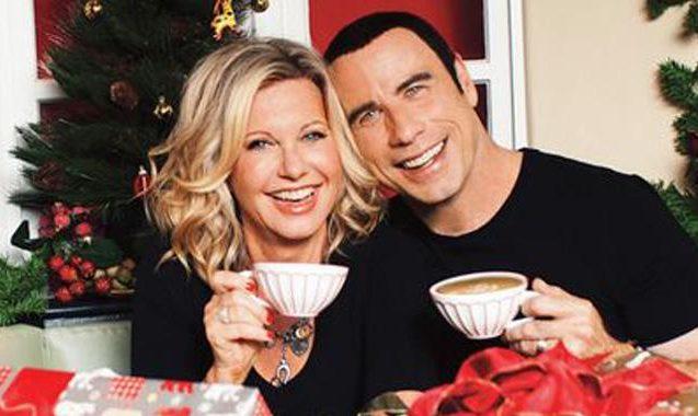 John Travolta, Olivia Newton-John Have A Christmas Reunion