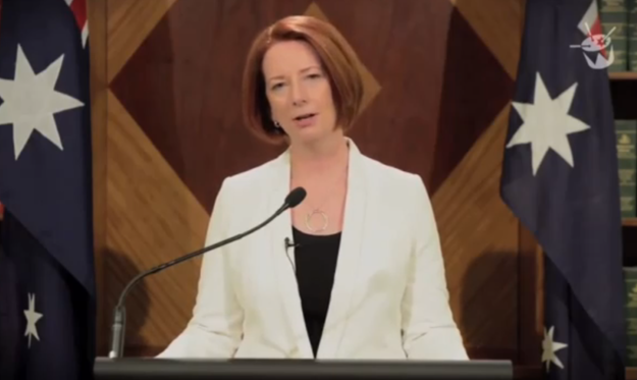 Julia Gillard Assures Us Of The Apocalypse, Her Sense of Humour