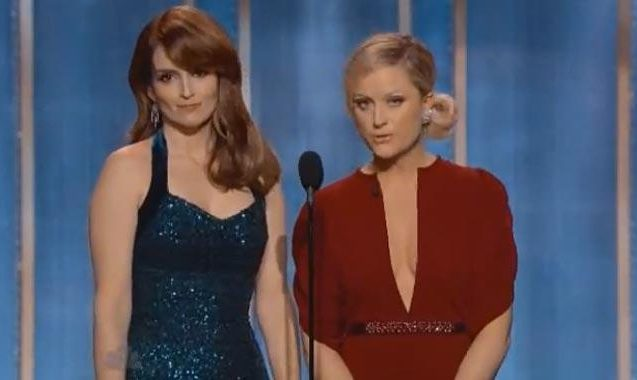 Watch Tina Fey And Amy Poehler's Vicious Golden Globes Monologue