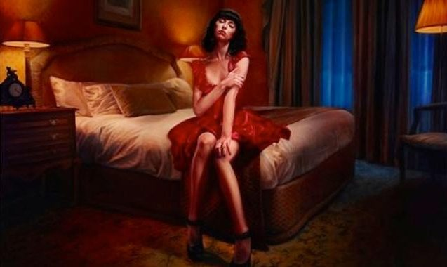 Vincent Fantauzzo Archibald Portrait Of Kimbra For Sale