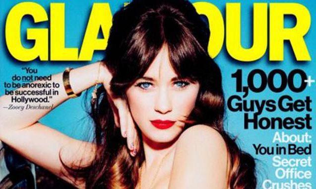 Zooey Deschanel Fights Feminist Cliches In Glamour Magazine