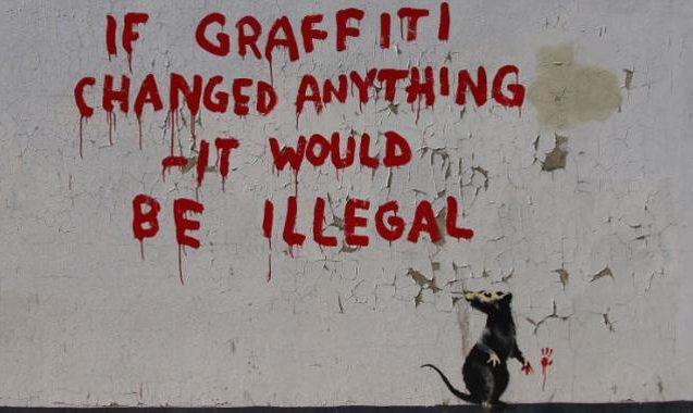 Fake Banksy Arrest Elevates Media Trolling Into An Art Form