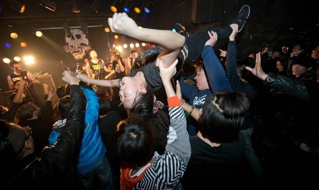 Scientists Dissect The Physics Of Moshing