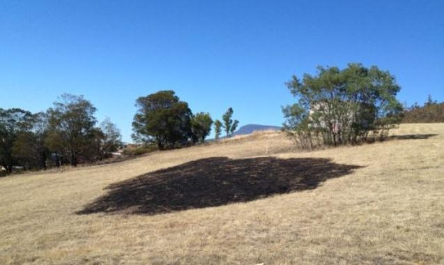 Mysterious Beam of Light Falls From Hobart Sky, Leaves Burning Crop Circle, Questions