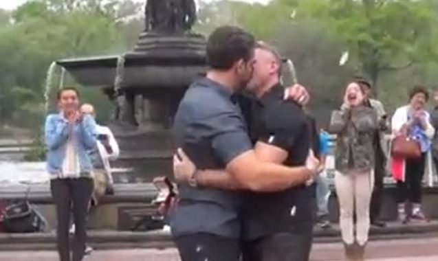 Gay marriage proposal goes viral on Facebook