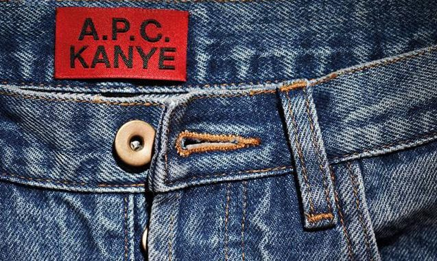 Kanye West Partners With A.P.C. On Laissez-Faire French Selvedge Denim Line