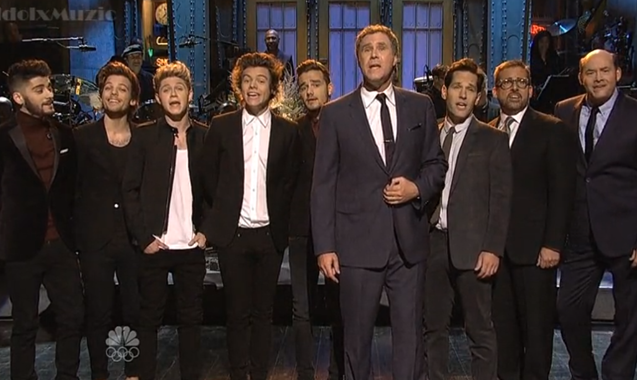 Anchorman 2 Cast Team Up With One Direction For A Capella 'Afternoon Delight' On SNL