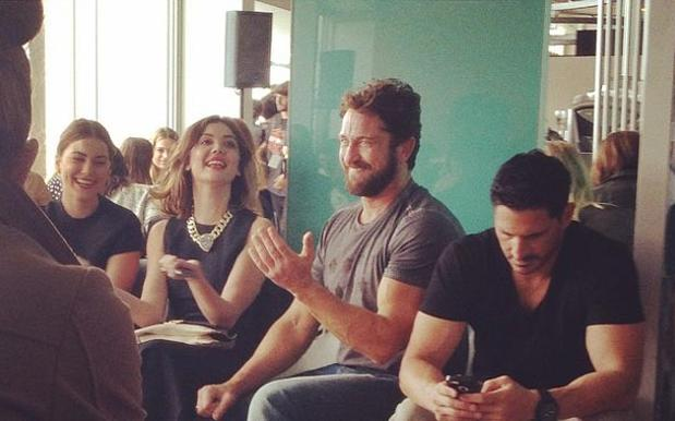 Fashion Week Improved Immeasurably By The Presence Of Gerard Butler