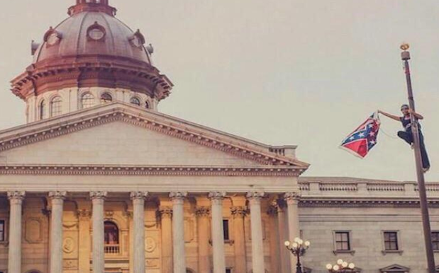 Woman Praised For Removing South Carolina Confederate Flag In Protest