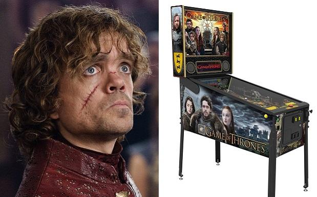Let's All Chuck In And Buy This 'Game Of Thrones' Pinball Machine