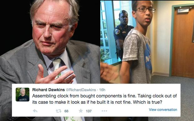 Richard Dawkins Tries, Fails, To Backpedal After Calling Ahmed Mohamed A Liar