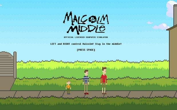 Stop What You're Doing And Play This 8-Bit 'Malcolm In The Middle' Game