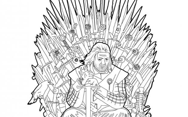George RR Martin Fattens Coffers Drops Game Of Thrones Colouring