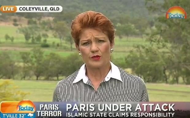 Pauline Hanson Rips On Turnbull, Refugees In 55 Seconds Of Car-Crash TV