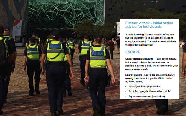 AUS-NZ Counter-Terrorism Unit Release Guidelines On Surviving An Attack