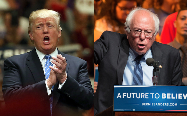 Trump Is Down To Debate Sanders, This US Election's *Other* Total Weirdo