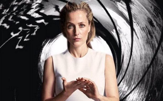 Gillian Anderson Replies To Female #NextBond Posts With Legit Dream Poster