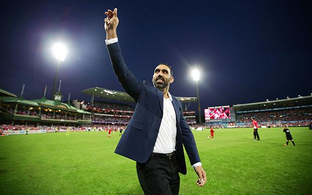 AdamGoodes 619 386 afl memes' fb page posts massively racist adam goodes gorilla