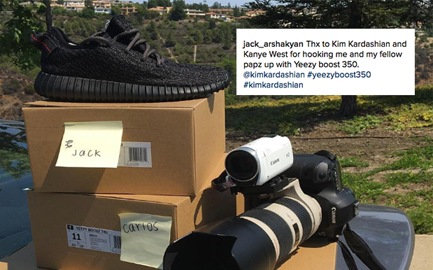 Kanye Is Sending Paparazzi Free Yeezys Now, But 'Scuse Us Ye Where's Ours