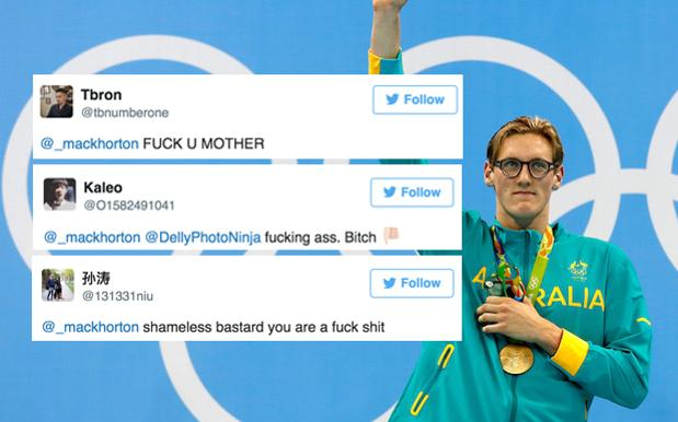 Chinese Twitter Continues To Dogpile Mack Horton & They're Getting Creative