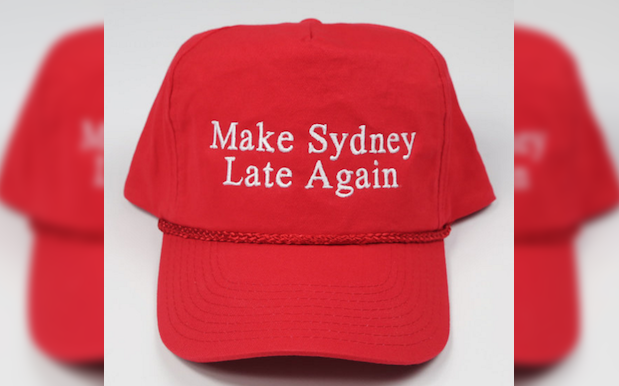 Grab One Of These Yuge, Really Terrific 'Make Sydney Late Again' Hats