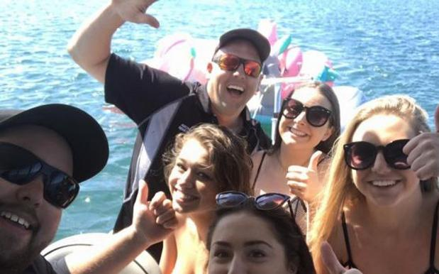 Schoolies On Inflatable Unicorns Had To Be Rescued After Being Swept To Sea