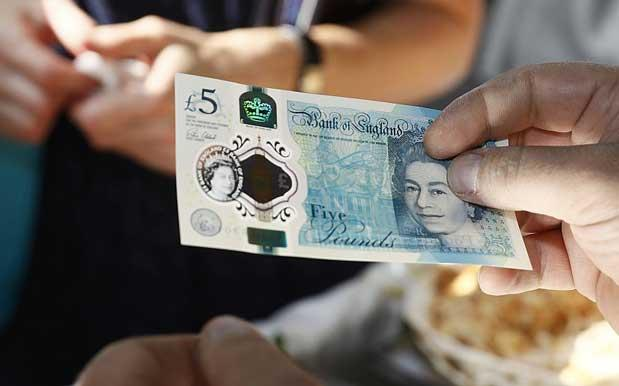 Britain's New Fiver Was Made With Animal Fat & Vegans Are Squealing