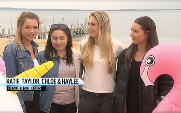 Teens Rescued At Sea On Pool Toys Tell 'The Project' How TF That Happened
