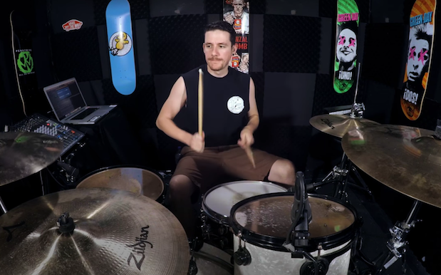WATCH: 'Strayan Drummer Tears Through The Hottest 100 #1s In 2 Minutes Flat