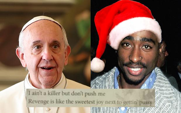 Christmas Carol Service Accidentally Publishes 2Pac's 'Hail Mary' Lyrics