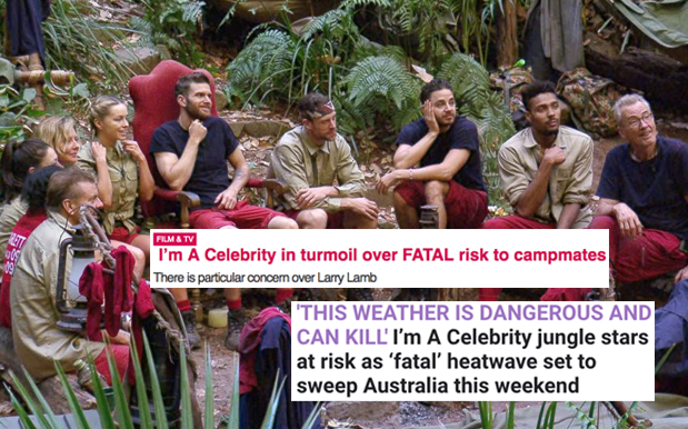 UK Media Reckons QLD's Gonna Kill Their 'I'm A Celeb' Contestants This W/E