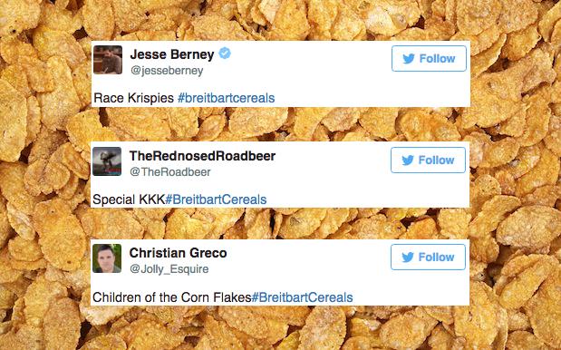 Twitter Toasts Trump's Website Of Choice For Its Salty Kellogg's Boycott