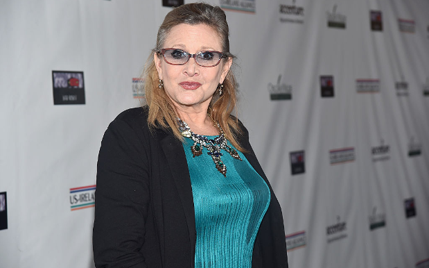 Carrie Fisher's Death Certificate Confirms She Suffered A Heart Attack