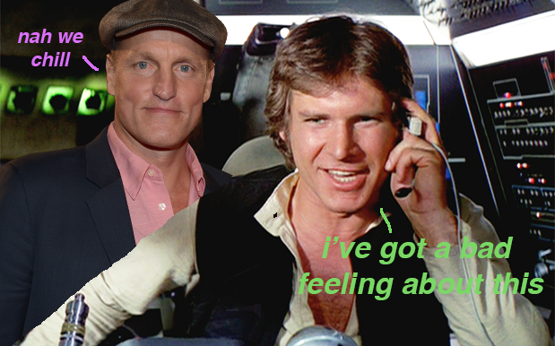 CONFIRMED: Woody Harrelson Has 100% Signed On To Be In The Han Solo Movie