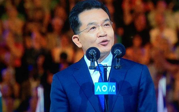 Tennis Fans Declare The Australian Open's Real MVP To Be Kia CEO Mr Cho