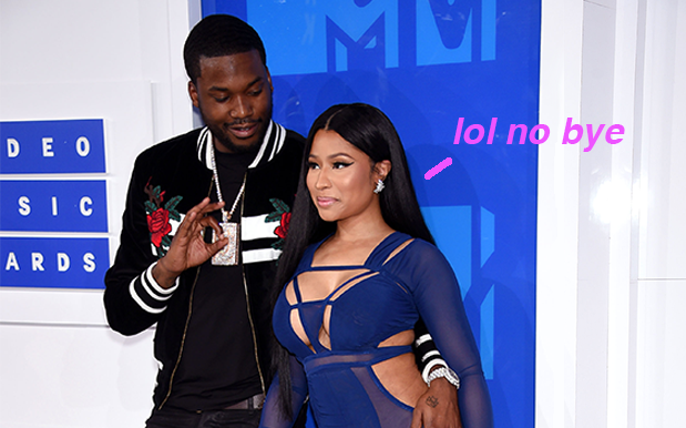 """Nicki Minaj & Meek Mill Reportedly Broke Up After A """"Nuclear"""" Fight"""
