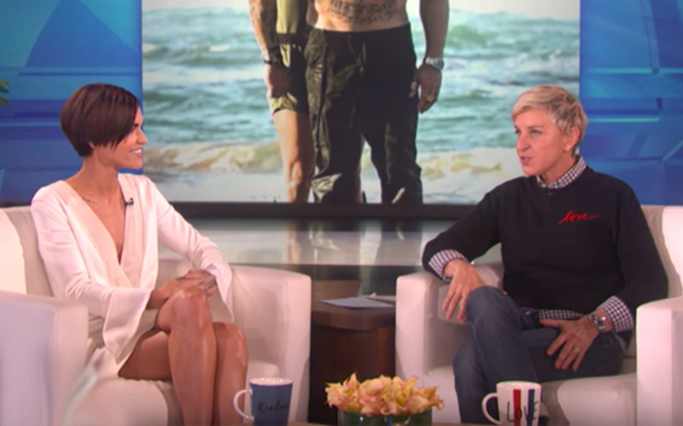 Ruby Rose Prepped For Her 1st Appearance On Ellen With Vitamin 'Injections'