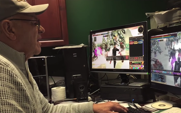 Devo'd 74-Year-Old Grandpa Farewells His Fave Online Game After 17 Years