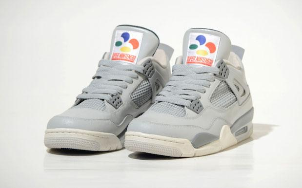 These V. Limited Super Nintendo-Themed Air Jordans Will Give You Extra Life