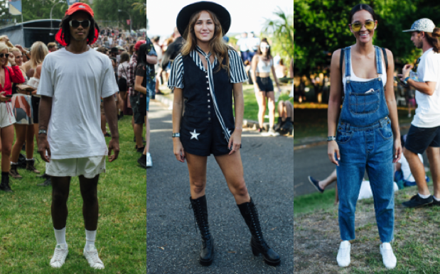 THAT'S A WRAP: What Sydney Punters Wore For Laneway's Closing Weekend