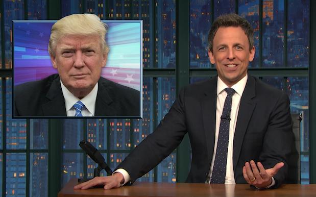 WATCH: Seth Meyers Sifted Through The Bullshit Of Trump's Wild 1st Presser