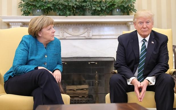 WATCH: Merkel Asked Trump For A Handshake, He Iced Her Out Hard