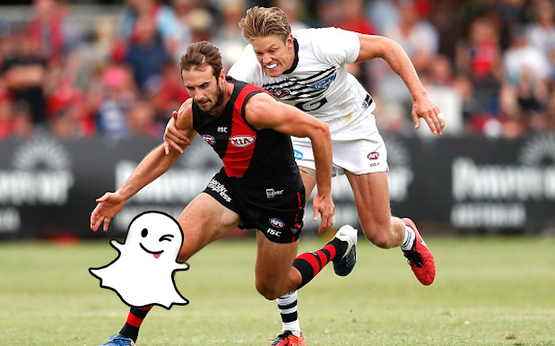 Snapchat Has Signed A Deal With The AFL So Expect Some Sports With Yr Nudes