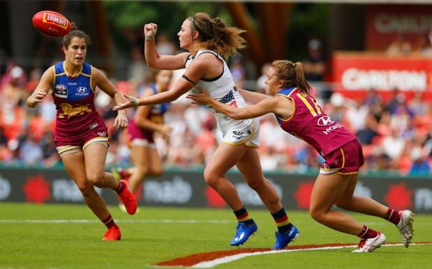 Adelaide Conquer Brisbane By A Single Goal In 1st AFL Women's Grand Final